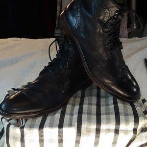 Johnston & Murphy Black  Boots  Sz. 11